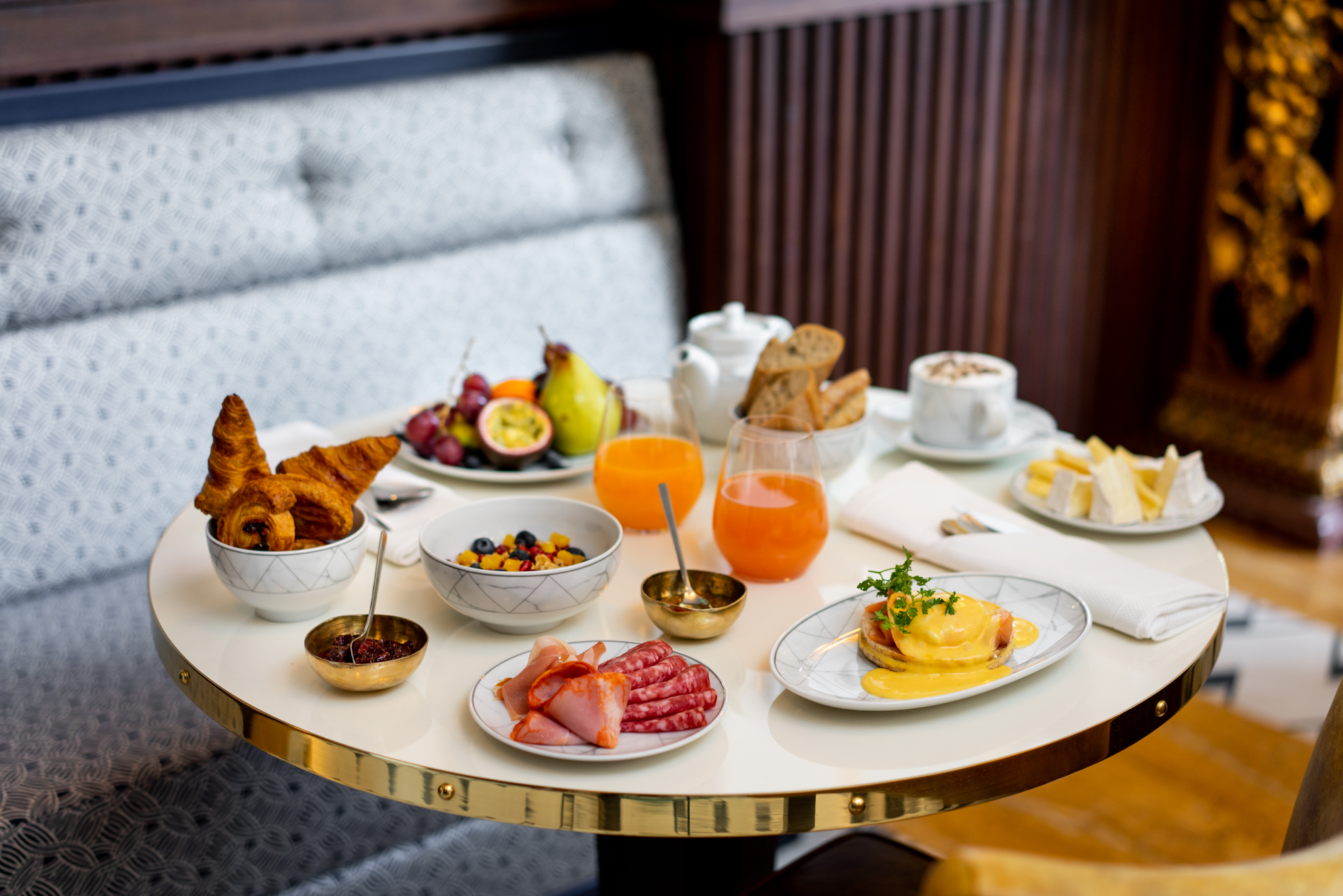 Maison Albar Hotels desayuno Collection